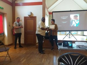 Director of YLN being Honoured with a Certificate by Southwark Council for his hard work and dedication for children and young people education and development